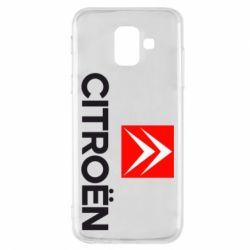 Чехол для Samsung A6 2018 CITROEN 2