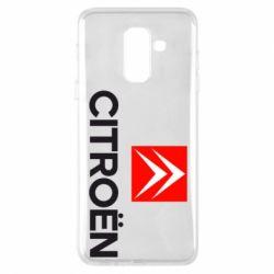 Чехол для Samsung A6+ 2018 CITROEN 2