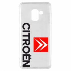 Чехол для Samsung A8 2018 CITROEN 2