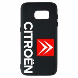 Чехол для Samsung S7 CITROEN 2