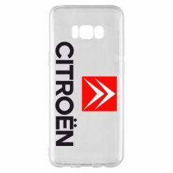 Чехол для Samsung S8+ CITROEN 2