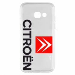 Чехол для Samsung A3 2017 CITROEN 2