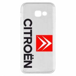 Чехол для Samsung A5 2017 CITROEN 2
