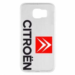 Чехол для Samsung S6 CITROEN 2