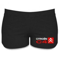 Женские шорты CITROEN C4 - FatLine