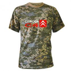 Камуфляжная футболка CITROEN C4 - FatLine