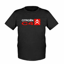 Детская футболка CITROEN C4 - FatLine