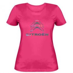 Женская футболка Citroen Голограмма