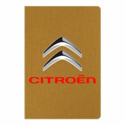 Блокнот А5 Citroen лого