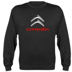 Реглан (свитшот) Citroen лого - FatLine