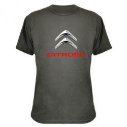 Камуфляжная футболка Citroen лого - FatLine