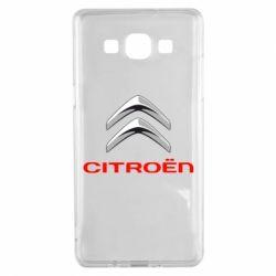 Чехол для Samsung A5 2015 Citroen лого