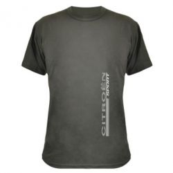 Камуфляжная футболка Citroen Спорт - FatLine