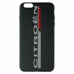 Чохол для iPhone 6 Plus/6S Plus Citroen Спорт