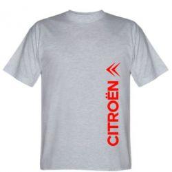 Мужская футболка Citroen Vert - FatLine