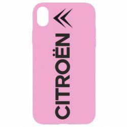 Чехол для iPhone XR Citroen Vert