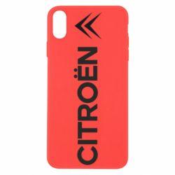 Чехол для iPhone Xs Max Citroen Vert