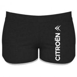 Женские шорты Citroen Vert - FatLine