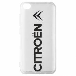 Чехол для Xiaomi Redmi Go Citroen Vert
