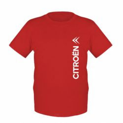 Детская футболка Citroen Vert - FatLine