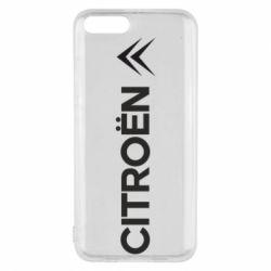 Чехол для Xiaomi Mi6 Citroen Vert