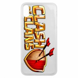 Чохол для iPhone Xs Max Clash of Clans logo
