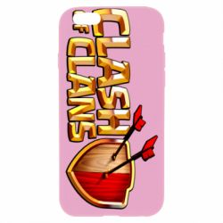 Чохол для iPhone 6/6S Clash of Clans logo
