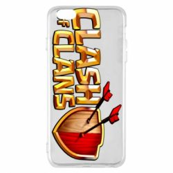 Чохол для iPhone 6 Plus/6S Plus Clash of Clans logo