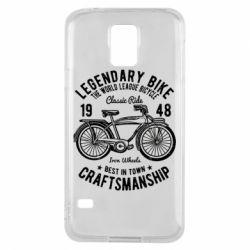 Чохол для Samsung S5 Classic Bicycle