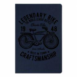 Блокнот А5 Classic Bicycle