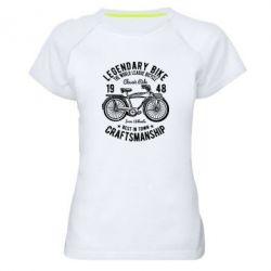Жіноча спортивна футболка Classic Bicycle