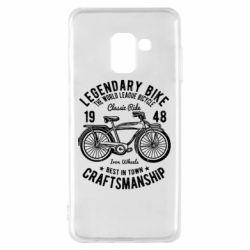 Чохол для Samsung A8 2018 Classic Bicycle