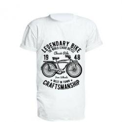 Подовжена футболка Classic Bicycle