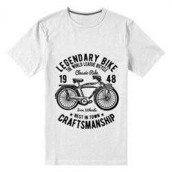 Чоловіча стрейчева футболка Classic Bicycle