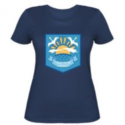 Жіноча футболка Clear sky