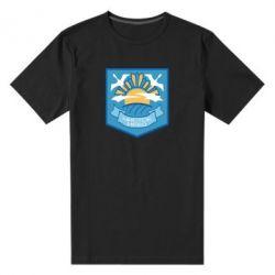 Чоловіча стрейчева футболка Clear sky