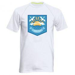 Чоловіча спортивна футболка Clear sky