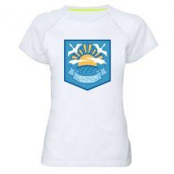Жіноча спортивна футболка Clear sky