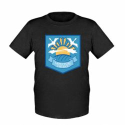 Дитяча футболка Clear sky