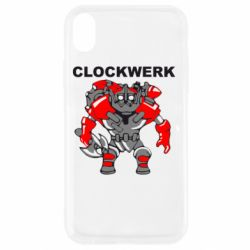Чохол для iPhone XR Clockwerk