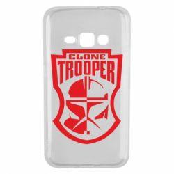 Чехол для Samsung J1 2016 Clone Trooper