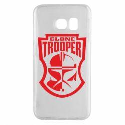 Чехол для Samsung S6 EDGE Clone Trooper