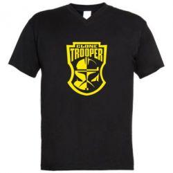 Мужская футболка  с V-образным вырезом Clone Trooper - FatLine