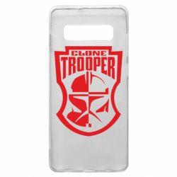 Чехол для Samsung S10+ Clone Trooper