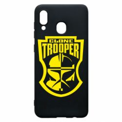Чехол для Samsung A20 Clone Trooper