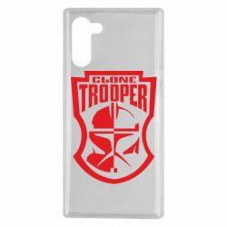 Чехол для Samsung Note 10 Clone Trooper