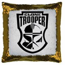 Подушка-хамелеон Clone Trooper