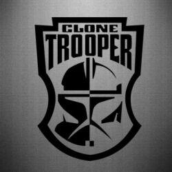 Наклейка Clone Trooper - FatLine