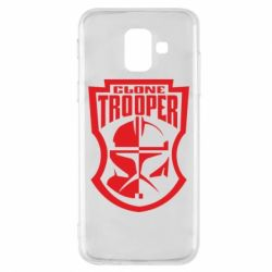 Чехол для Samsung A6 2018 Clone Trooper