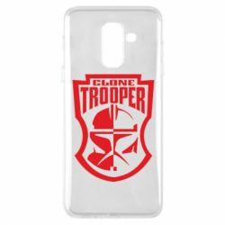 Чехол для Samsung A6+ 2018 Clone Trooper